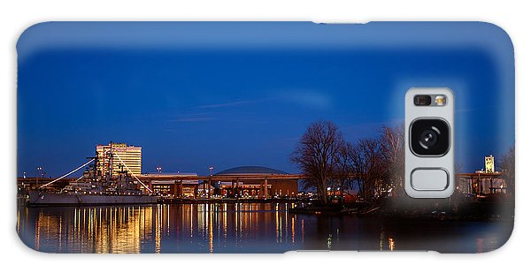 Buffalo Waterfront Twilight Galaxy Case