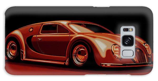 Automobile Galaxy Case - Bugatti Veyron 'beetgatti' 1945 Painting by Paul Meijering