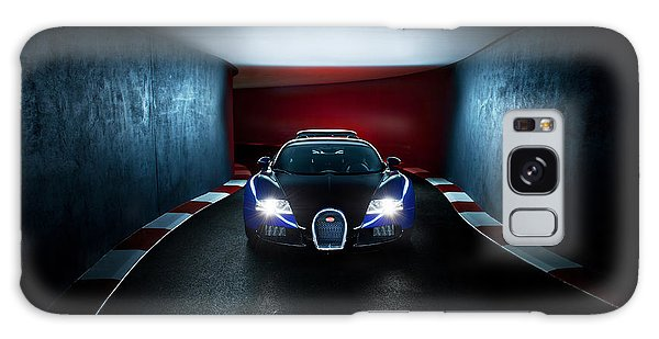 Bugatti Veyron In Secret Tunnel Galaxy Case