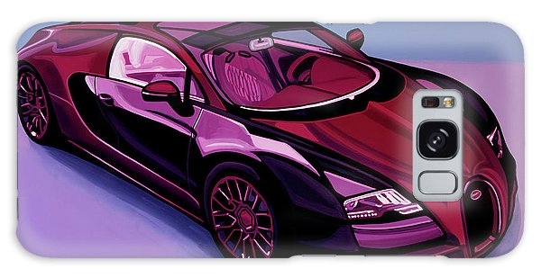 Automobile Galaxy Case - Bugatti Veyron 2005 Painting by Paul Meijering