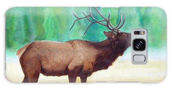Bugling Elk Galaxy Case