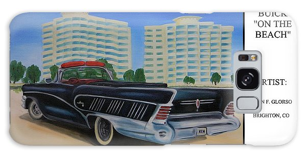 Buick On The Beach Galaxy Case
