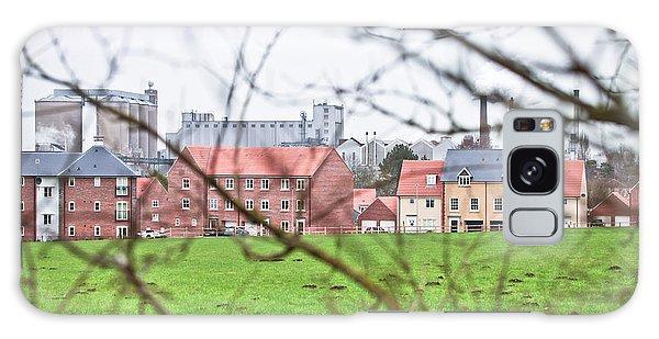 Bury St Edmunds Galaxy Case - Buildings by Tom Gowanlock