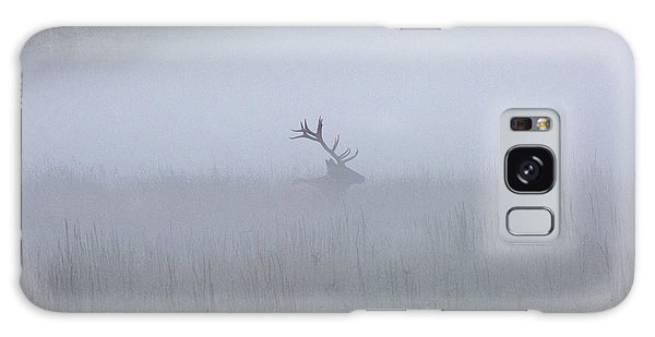 Bull Elk In Fog - September 30, 2016 Galaxy Case