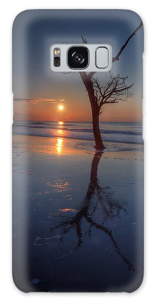 Bull Island Sunrise Galaxy Case