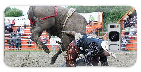 Bull Riding Action Galaxy Case