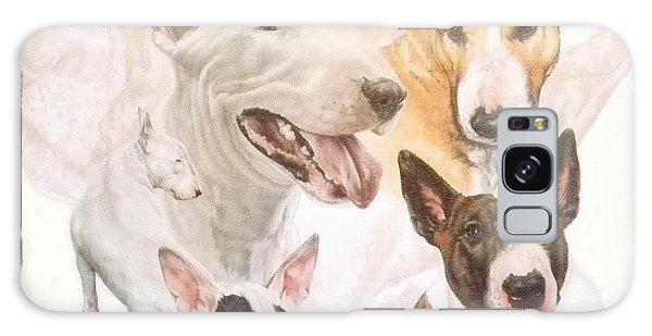 Bull Terrier Medley Galaxy Case