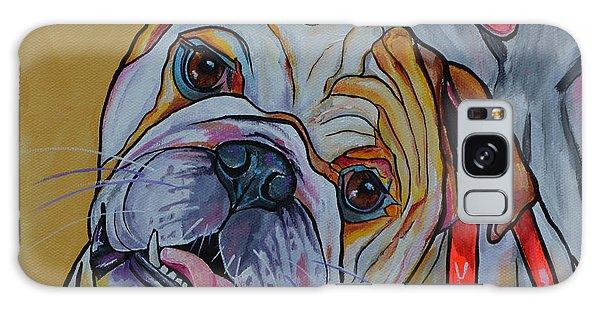 Bulldog Galaxy Case by Patti Schermerhorn