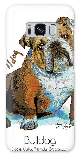 Bulldog Pop Art Galaxy Case