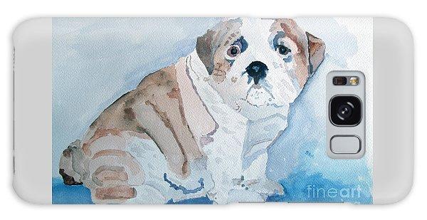 Bulldog Puppy Galaxy Case