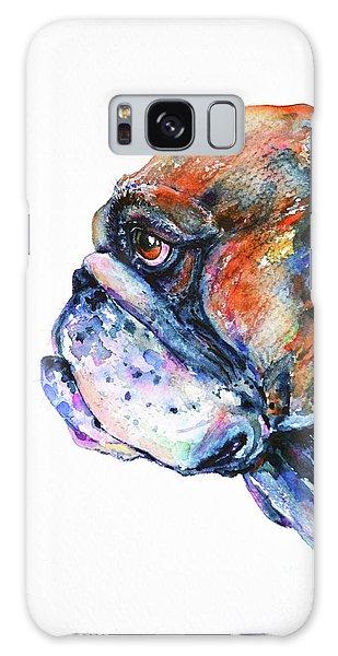 Bulldog Galaxy Case by Zaira Dzhaubaeva