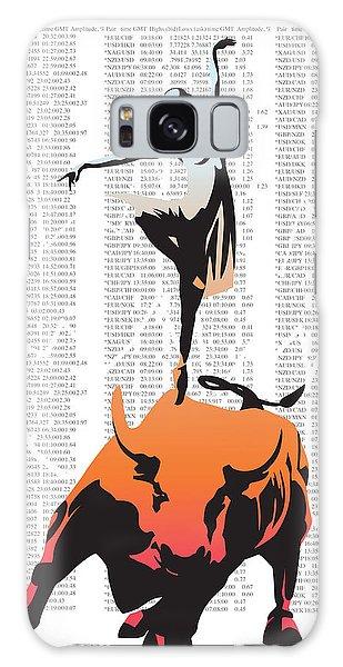 Bull Art Galaxy Case - Bullerina by Sassan Filsoof