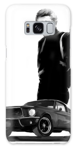 Bullitt Cool  Steve Mcqueen Galaxy Case