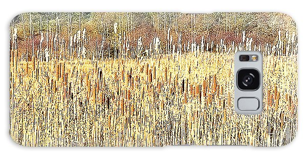 Bullrushes In Late November Galaxy Case