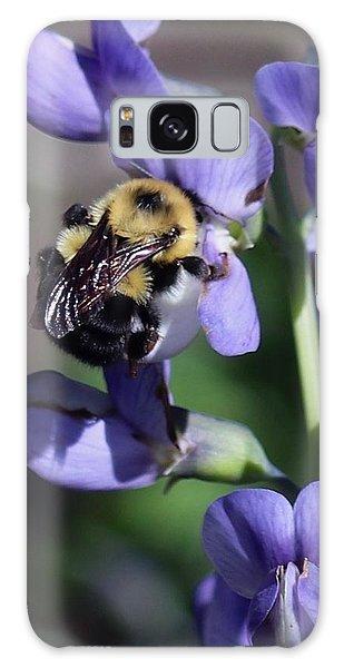 Bumble Bee, Blue Indigo Galaxy Case