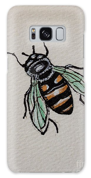 Bumble Bee Galaxy Case by Elizabeth Robinette Tyndall