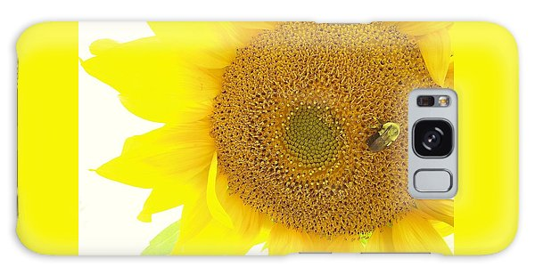 Bumble Bee Sunflower Galaxy Case