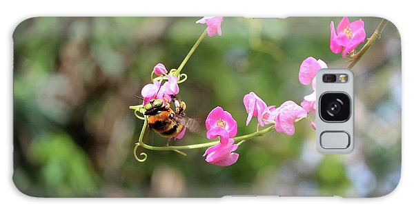 Galaxy Case featuring the photograph Bumble Bee1 by Megan Dirsa-DuBois