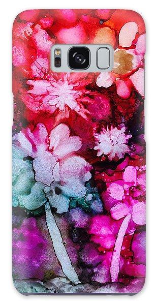 Bunch Of Flowers Galaxy Case by Karin Eisermann