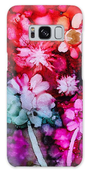 Bunch Of Flowers Galaxy Case