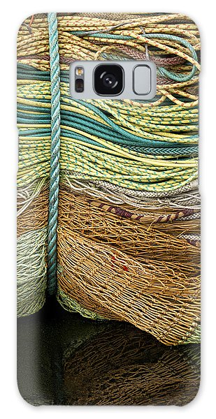 Bundle Of Fishing Nets And Ropes Galaxy Case