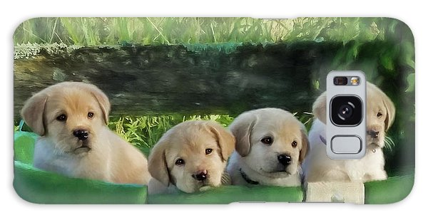 Bundles Of Joy - Labrador Art Galaxy Case