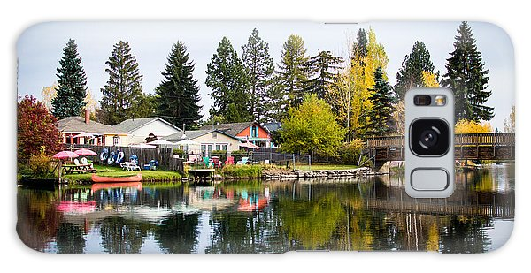 bungalows on the Deschutes Galaxy Case