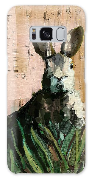 Cottage Galaxy Case - Bunny by Carrie Joy Byrnes