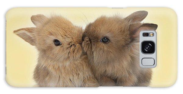 Bunny Kisses Galaxy Case