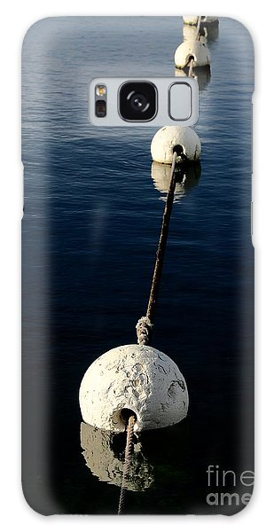 Galaxy Case featuring the photograph Buoy Descending by Stephen Mitchell
