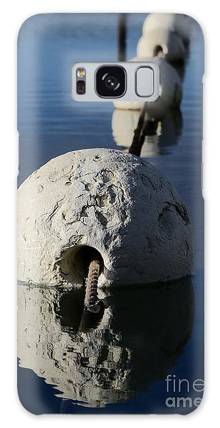 Galaxy Case featuring the photograph Buoy In Detail by Stephen Mitchell