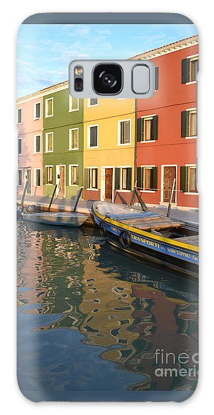 Burano Italy 1 Galaxy Case by Rebecca Margraf