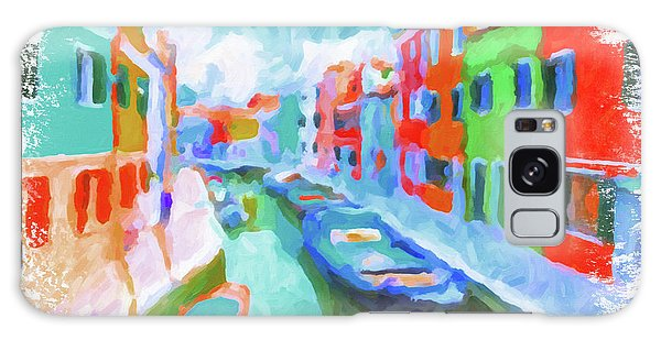 Burano, Venice, Italy Galaxy Case by Chris Armytage