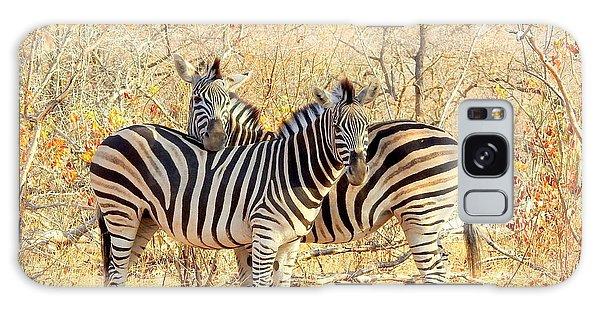 Burchells Zebras Galaxy Case