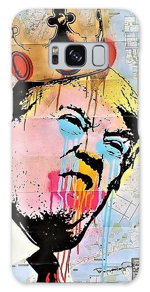Galaxy Case - Burger King Trump by Rob Hans