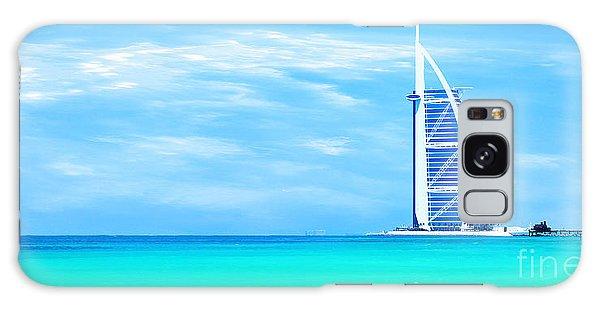 Burj Al Arab Hotel On Jumeirah Beach In Dubai Galaxy Case