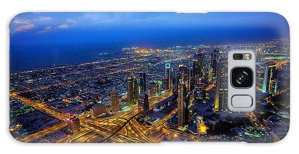 Burj Khalifa View Galaxy Case