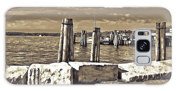 Burlington Pier Galaxy Case by Rena Trepanier