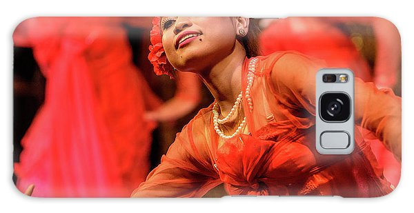 Burmese Dance 1 Galaxy Case by Werner Padarin