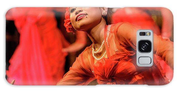 Burmese Dance 1 Galaxy Case