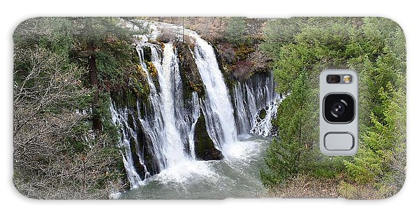 Burney Falls Galaxy Case