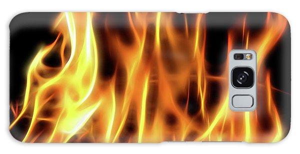 Burning Flames Fractal Galaxy Case