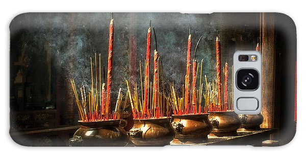Burning Incense Galaxy Case