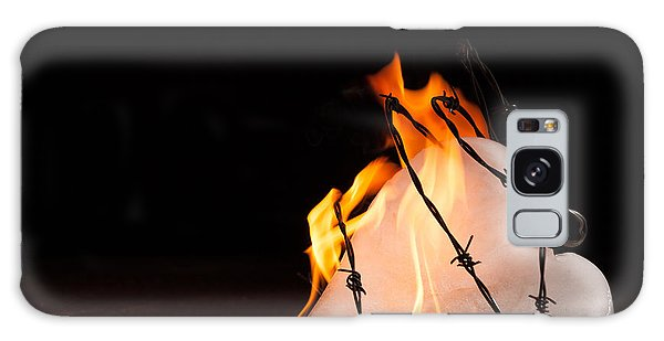 Burning Love Galaxy Case by Yvette Van Teeffelen