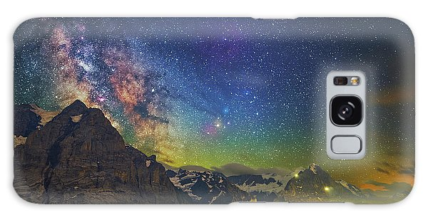 Burning Skies Galaxy Case