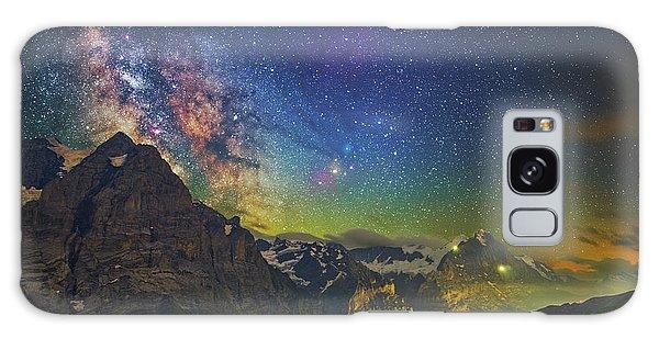 Burning Skies Galaxy Case