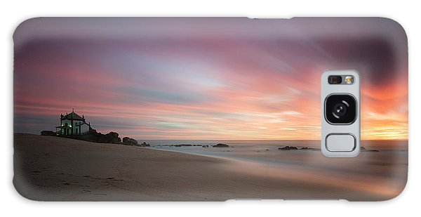 Galaxy Case featuring the photograph Burning Sky by Bruno Rosa