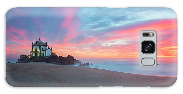 Galaxy Case featuring the photograph Burning Sky V3 by Bruno Rosa