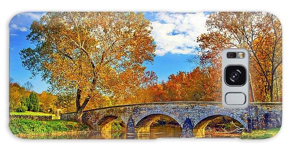 Burnside Bridge At Antietam Galaxy Case