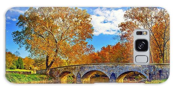 Burnside Bridge At Antietam Galaxy Case by Paul W Faust -  Impressions of Light